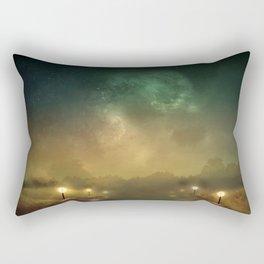 Ghost Lights Rectangular Pillow