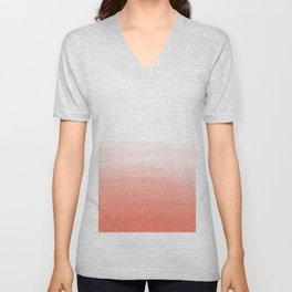 Blush Wash Unisex V-Neck
