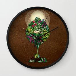 Earth Baby Wall Clock