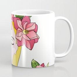 Spring lady Coffee Mug