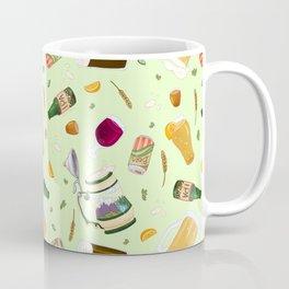 Cute Beer Pattern Coffee Mug