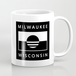Milwaukee Wisconsin - Black - People's Flag of Milwaukee Coffee Mug