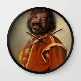 """Frans Hals """"The 'Mulatto'"""" Wall Clock"""