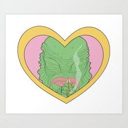 I love gillman Art Print