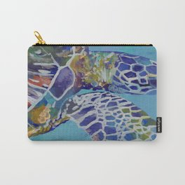Honu Kauai Sea Turtle Carry-All Pouch