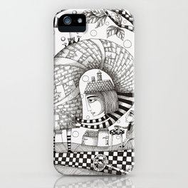 There will be Nonsense in it iPhone Case