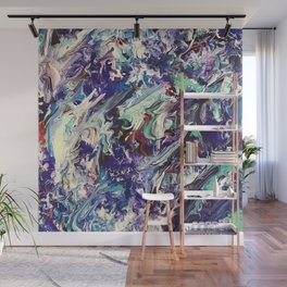 Feathered Honesty Wall Mural