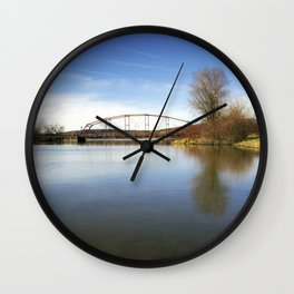Solitude Bridge Landscape Wall Clock