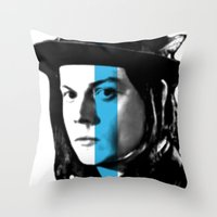 jack white Throw Pillows featuring Jack White by nufertity