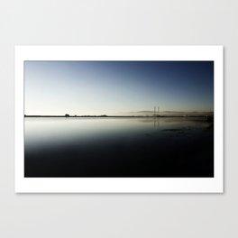 Dublin Bay in Blue_015 Canvas Print
