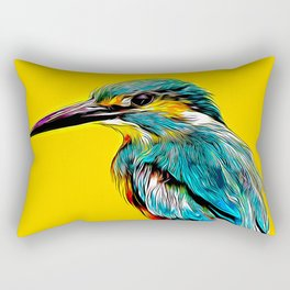 Kingfisher v2 vastd Rectangular Pillow