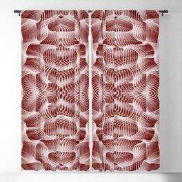 Fractal Art - Rose Blackout Curtain