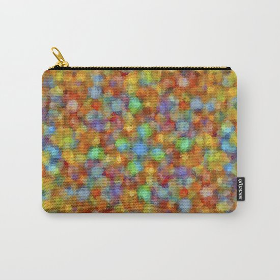 Abstract Watercolour Bubbly Pattern Carry-All Pouch