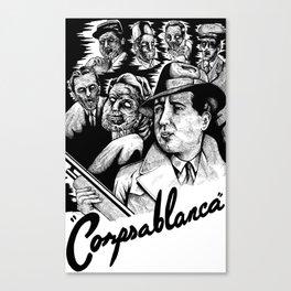 Corpsablanca Canvas Print