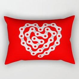 Love My Bike Rectangular Pillow