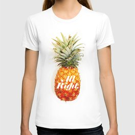 All Right. (Tropical) T-shirt