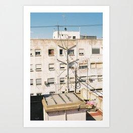 Roof of Valencia Art Print