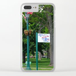 Welcome to Put-in-Bay- vertical Clear iPhone Case