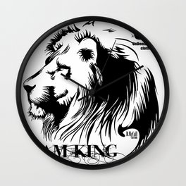 IAMKING_USclothing Wall Clock