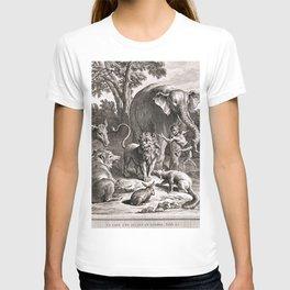 Le lion s'en allant en guerre T-shirt