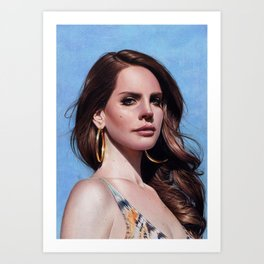 Lana Art Print