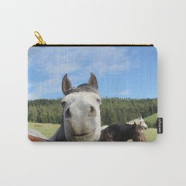 Horse Smile Photography Print Carry-All Pouch