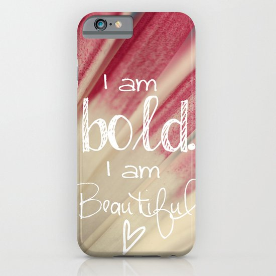 Bold and Beautiful iPhone & iPod Case