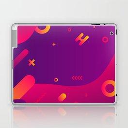 80s 90s Memphis Retro Pattern #2 Laptop & iPad Skin