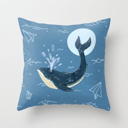 Sea planes Throw Pillow