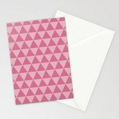 Bubblegum triangles 2 Stationery Cards
