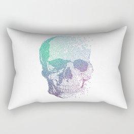 Music Skull Rectangular Pillow