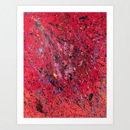Emotion on Canvas, 2016 Art Print