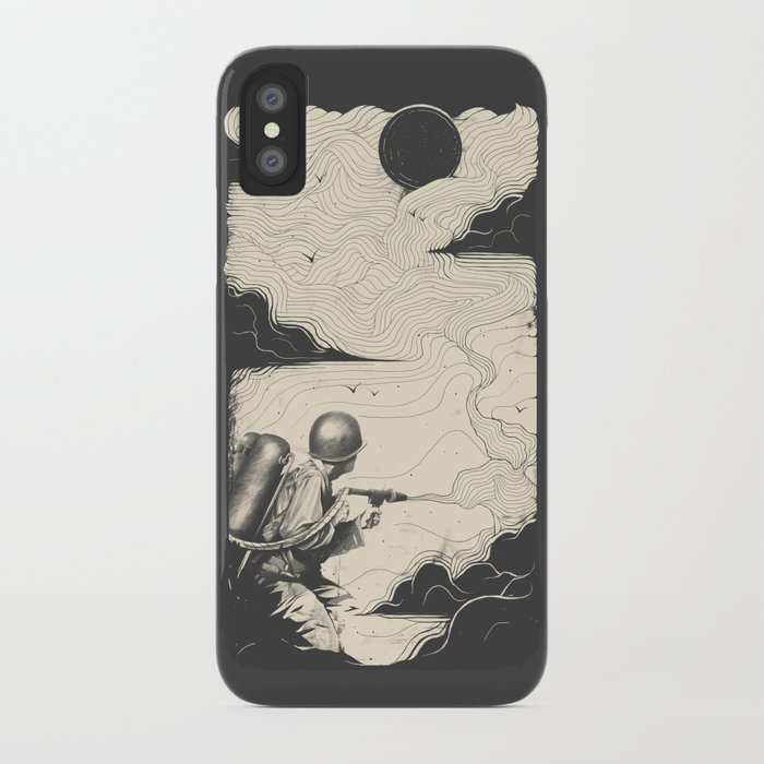 Sky Thrower iPhone Case