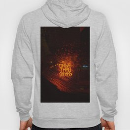 Drive Thru 24 Hrs (Color) Hoody