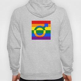 Gay Pride Rainbow Flag Boy Man Gender Male Hoody