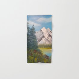 Autumn, Canadian Rockies Hand & Bath Towel