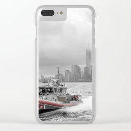 Coast Guard and NYC Clear iPhone Case