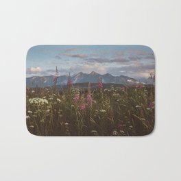 Mountain vibes - Landscape and Nature Photography Bath Mat