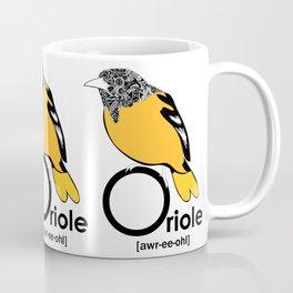 O is for Oriole Coffee Mug