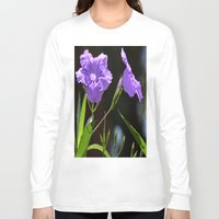 alone Long Sleeve T-shirts featuring Alone by BeachStudio