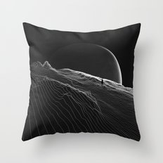 Private version of the world Throw Pillow