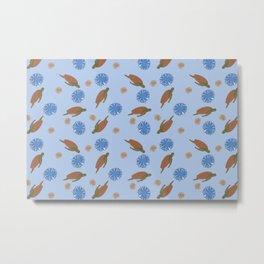 Shells & Honu Metal Print