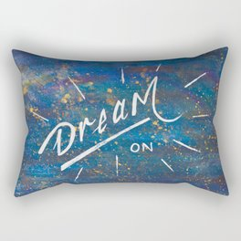 Dream On in the Starry Galaxy of Wonder Rectangular Pillow