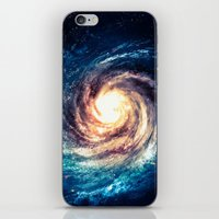 xbox iPhone & iPod Skins featuring Spiral Galaxy by Zavu