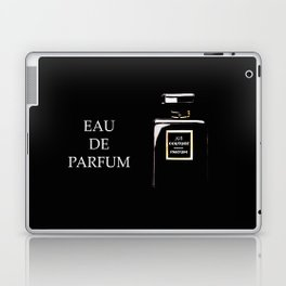Black Parfum on black Laptop & iPad Skin