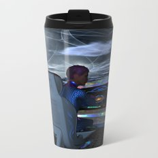 Planetary Exploration Metal Travel Mug
