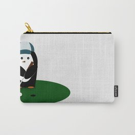 Putting Penguin Carry-All Pouch