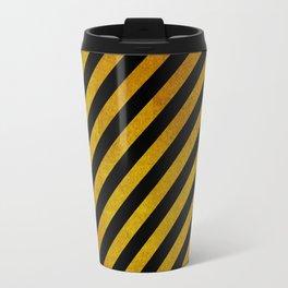 Caution Pattern Travel Mug