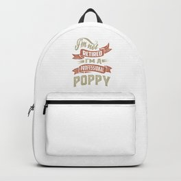 I'm a Professional Poppy Backpack