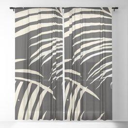 Tropical Sheer Curtain